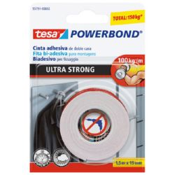 CINTA D.CARA ULTRASTRONG 55791-1,5MX19MM
